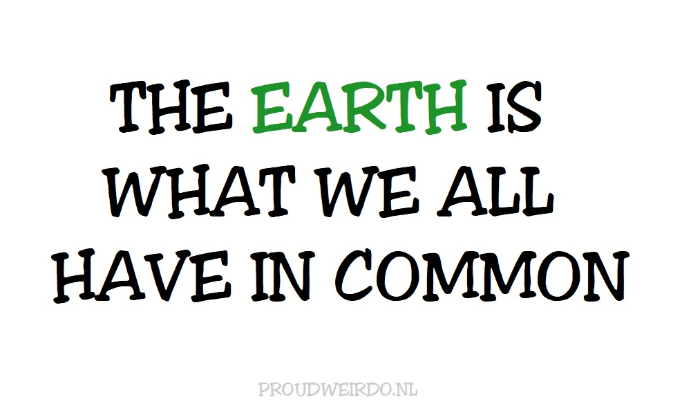 Onze planeet heeft het zwaar