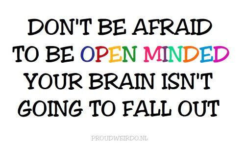 1 Open mind