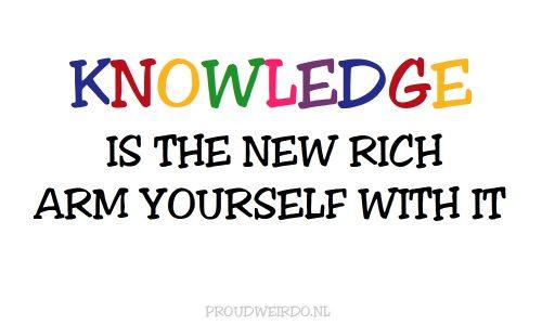 1. Een beetje kennis kan geen kwaad