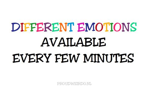 1. Emoties