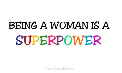 1. Vrouw zijn